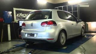 * Reprogrammation Moteur * VW Golf 6 tdi 110cv @ 179cv Dyno Digiservices Paris