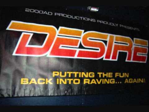 DESIRE 2000AD - DJ FLAPJACK + MC EVIL B - 07/06/97