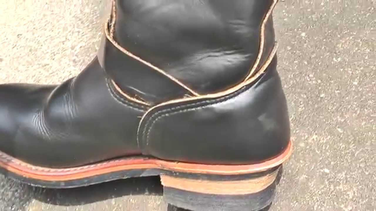 red wing engineer boots #2268 - YouTube