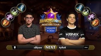 xBlyzes vs AyRoK - Final - Hearthstone Masters Tour Arlington