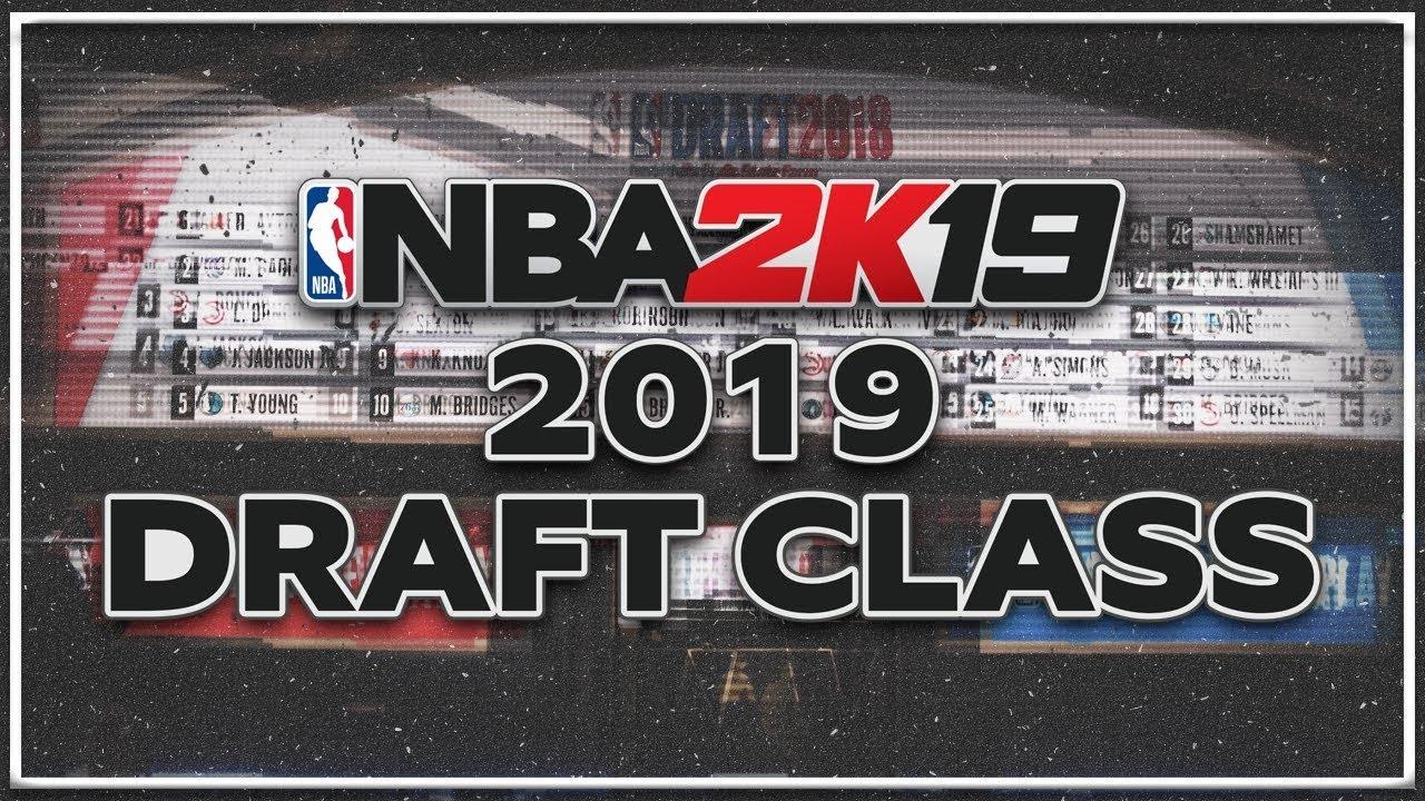 NBA 2K19 - 2019 NBA Draft Class (Most Realistic Faces) (PS4)