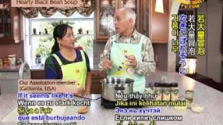Cooking With Seventh-day Adventist, Raymond Ruckle - Hearty Black Bean Soup-1