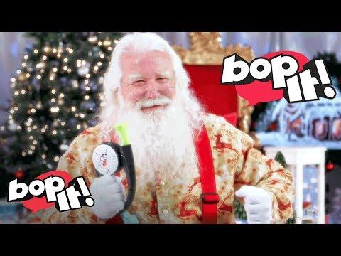 &39;Bop It&39; w Santa - Hasbro Gaming