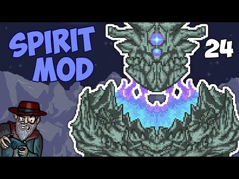 Terraria #24 ATLAS BOSS! - 1.3.5 Spirit Mod Let's Play