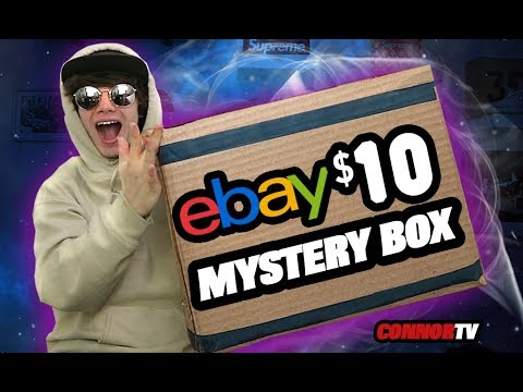 $10 EBAY Mystery Box Challenge Unboxing Haul *CRAZY*