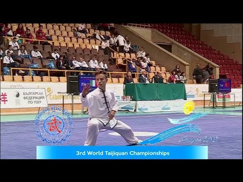 Italian Gold Medalist at the 3rd World Taijiquan Championships - Bulgaria 2018