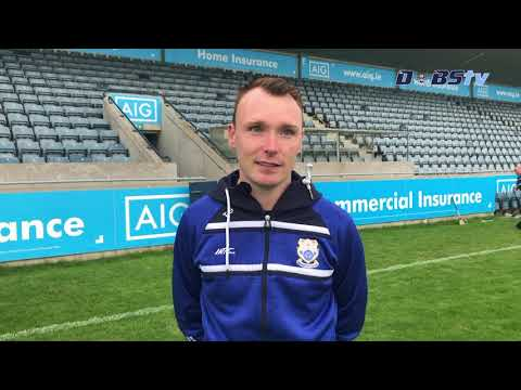 Naomh Fionnbarra coach Thomas Gleeson chats to Dubs TV after Dublin Senior B Semi Final win