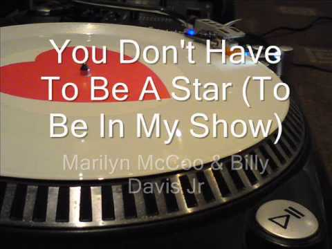 You Don't Have To Be A Star To Be In My  Marilyn McCoo & B