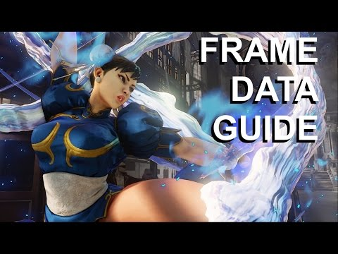 How To Find, Read, and Apply Frame Data - Street Fighter 5