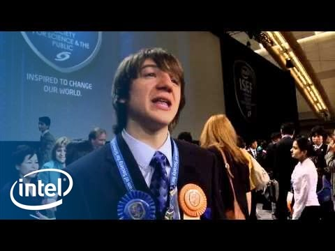 Young Innovator Achieves Childhood Dream at Intel ISEF | Intel