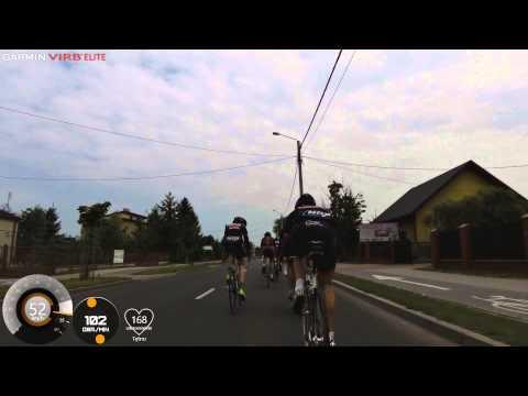 Gatta Bike Team -  trening na rundzie wyścigowej