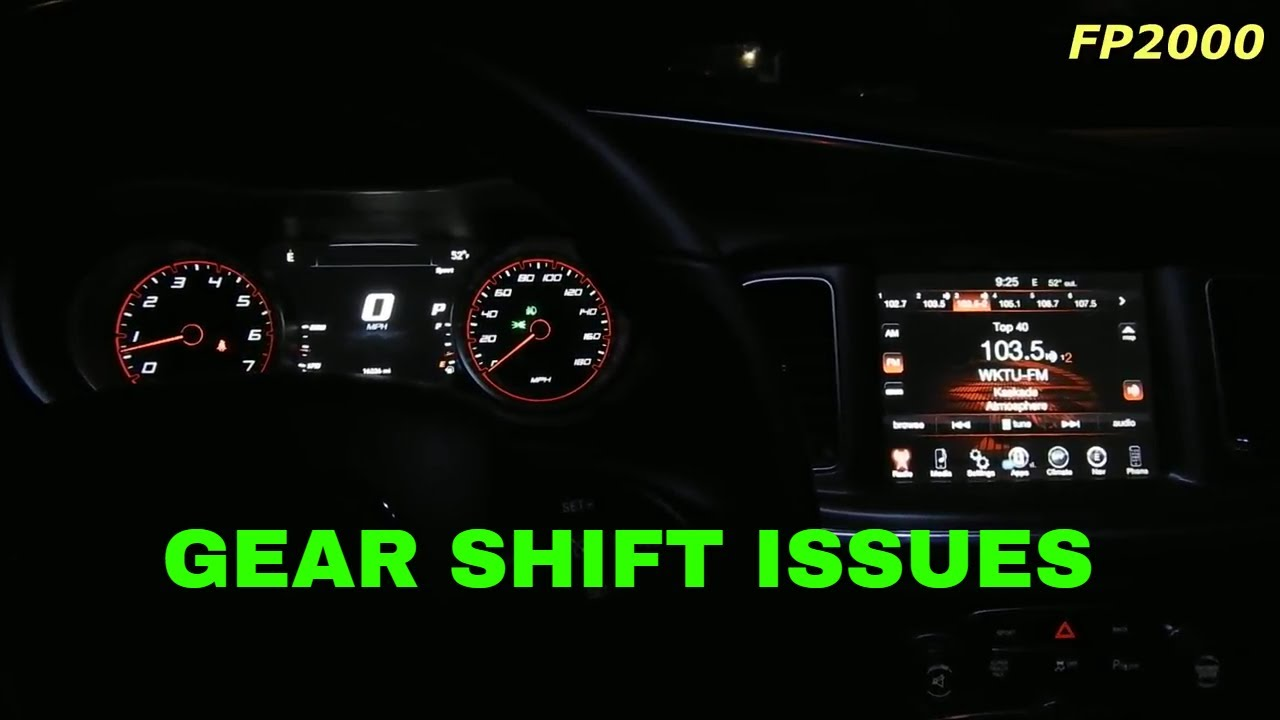 Transmission Shifting Gear Problems Uconnect Update Dodge Charger Rt Pack Hemi 392 Srt Ed