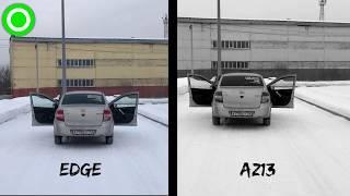 Сравнение динамиков EDGE EDPRO6E-E8 и AZ13 SPL Power GR-654 - #miss_spl