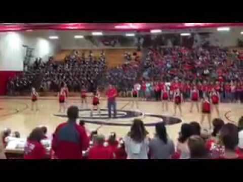 Coffee County High School Teacher Pep Rally Dance