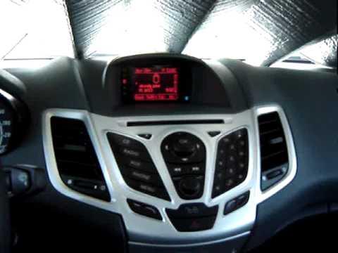 car audio new ford fiesta mk7 2 youtube. Black Bedroom Furniture Sets. Home Design Ideas