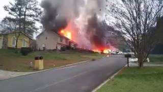 Plane Crashes into Home in Cobb County, Georgia