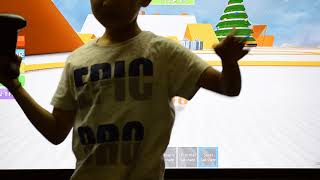 ROBLOX- Game Play - XBOX ONE- RISHIK shows the kids how to play ROBLOX- Different games Demo