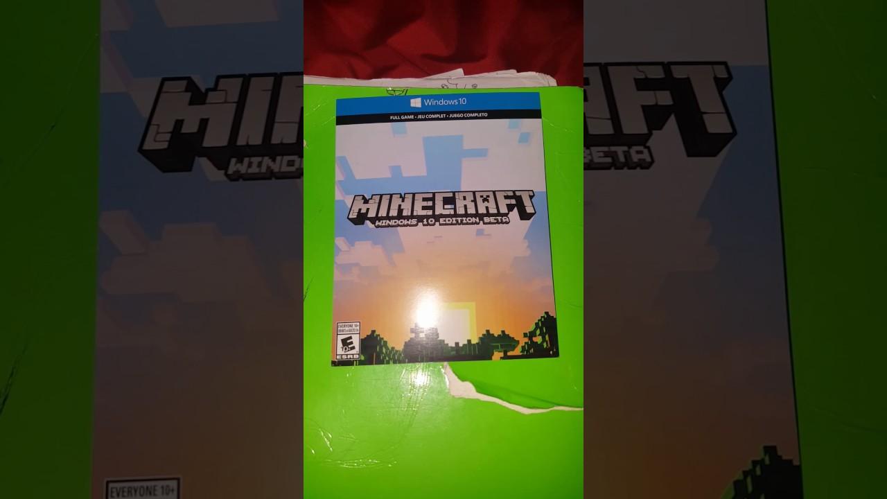 Free code for Minecraft Windows 10 edition -E E