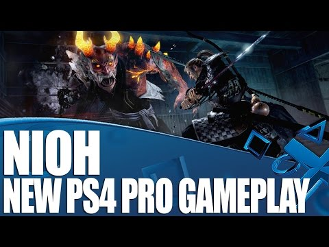 Nioh - New PS4 Pro Gameplay - Ogress Boss Battle!