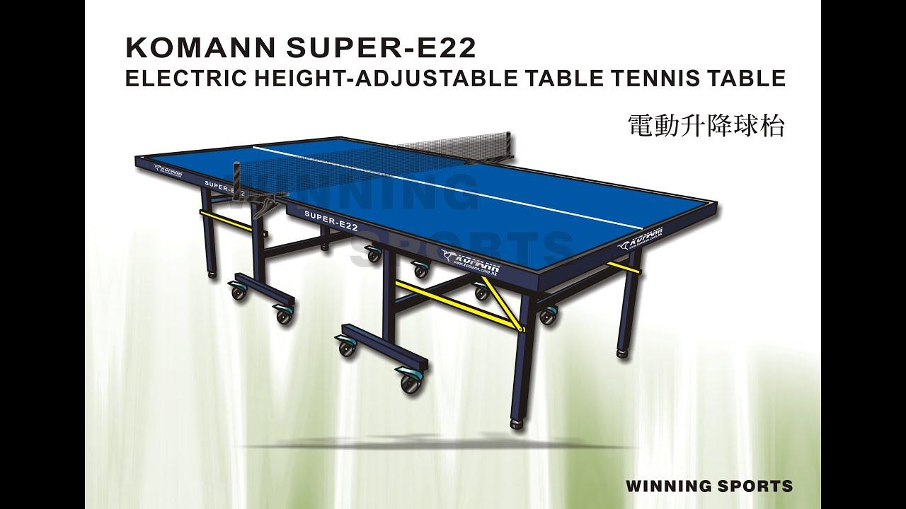 SUPER-E22 Electric Height-Adjustable Table (SUPER-E22 電動升降枱)