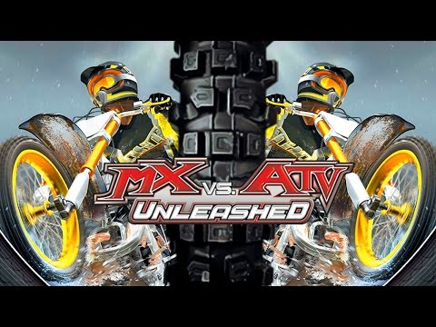 MX Vs ATV Unleashed! - Gameplay/Walkthrough - Part 1 - Cheat Codes Activated!