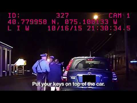 Attorney arrested for staying silent during NJ traffic stop sues