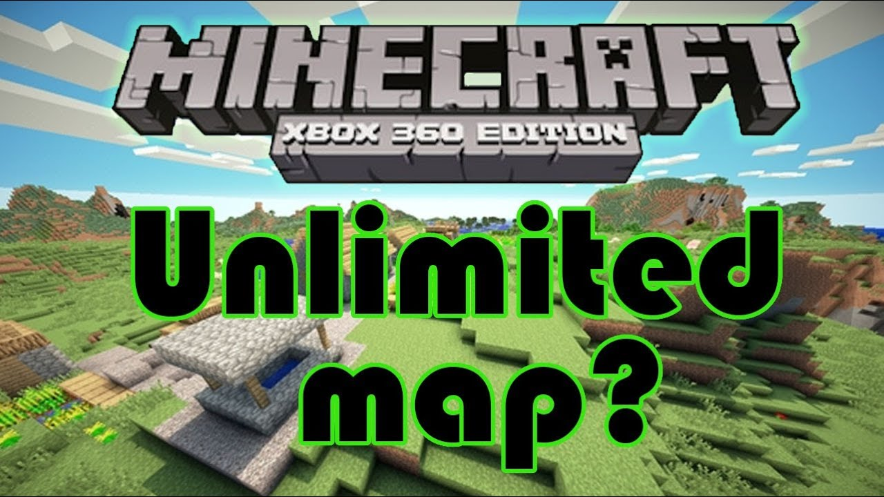 Unlimited world for minecraft xbox 11 edition? - increased map size talk   HD