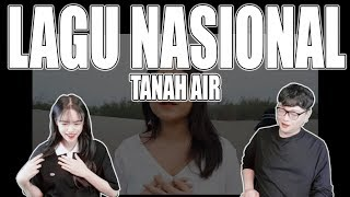 Download lagu [KOREAN REAKSI] Lagu Nasional - Tanah Air ( cover ) by Alffy Rev ft Brisia jodie & Gasita Karawitan MP3