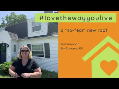 a *no fear* new roof! | Love the Way You Live
