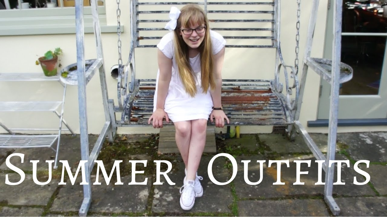 [VIDEO] - Summer Holiday Lookbook    Six Preppy Outfits 6