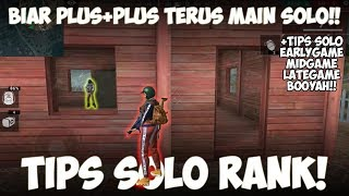 Kuat Solo? Tips Booyah Solo Rank Garena Free Fire Indonesia HD