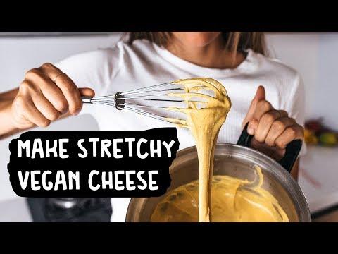 How to Make Stretchy Vegan Cheese Sauce (Tutorial + Recipe)