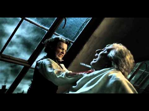 Sweeney Todd kills Judge Turpin