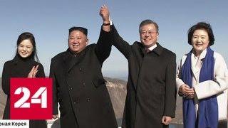 Лидер КНДР подарил коллеге из Южной Кореи две тонны деликатесных грибов - Россия 24