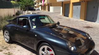 Porsche 993 detailed by Solodettagli car Detailing