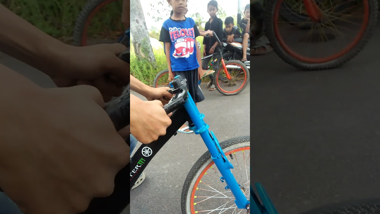 Seting Sepeda Drag Youtube