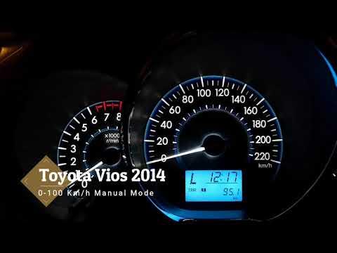 Toyota Vios 0-100 Km/h