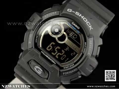Casio G-Shock G-LIDE 200M All Black Sport Watch GLS-8900-1B 5b08dde6f101