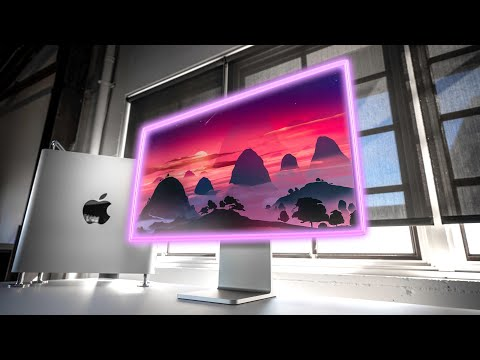 The Apple Pro Display XDR...in HDR!