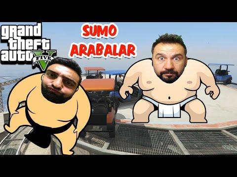 SUMO ARABALAR GÜREŞİYOR! | GTA 5 ONLINE