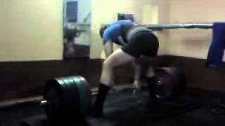 Евгений Галузинский. Становая тяга 350 кг