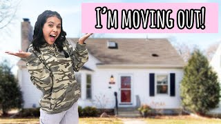 I am MOViNG OUT!