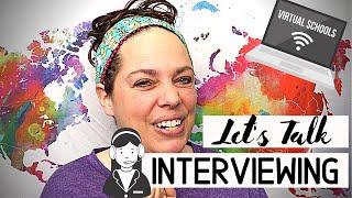 Interviewing for a Virtual Teacher Job (cyber school teacher, virtual teacher, online teacher)