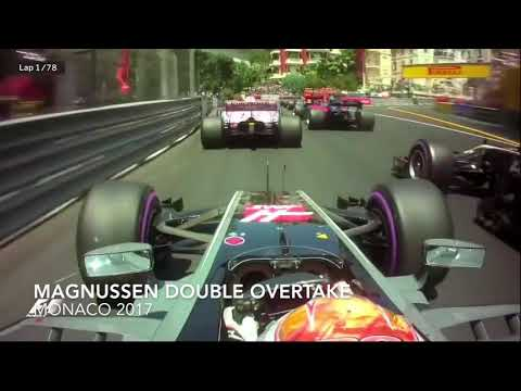 Kevin Magnussen awesome overtakes compilation