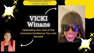 Vicki Winans Cameo for The Women's Confidence Tour...#vickiwinanas #vickiwinans2021