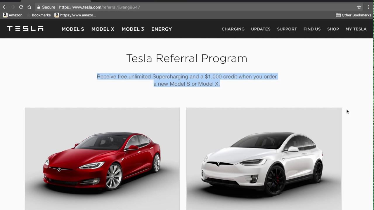 Tesla Referral Program >> 1000 Off On Tesla Free Unlimited Lifetime Supercharging At Tesla Superchargers