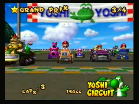 Mario Kart: Double Dash - 2003 - 150cc: Star Cup