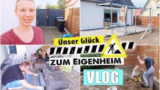 Unser Traumgarten 🏡🌸 | Terrassen Überdachung & Pflasterarbeiten | Isabeau