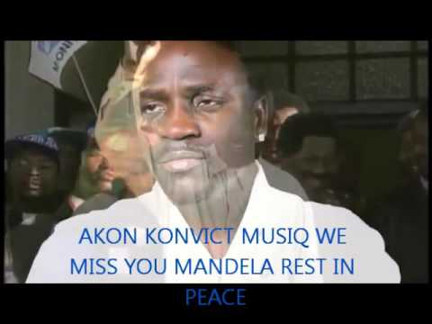 WE MISS YOU MANDELA OFFICIAL AKON SONG