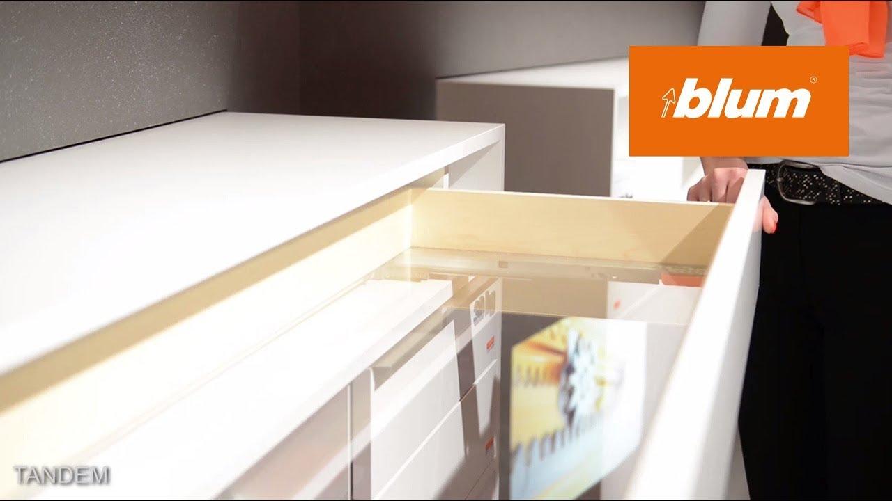 Blum At Interzum 2017   MOVENTO And TANDEM. Blum Furniture Fittings